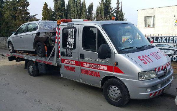 Pomoc drogowa Poznań - autolaweta